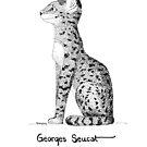 #meowdernart - Georges Seucat by mariapaizart