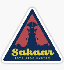 Sakaar Travel Sticker Sticker