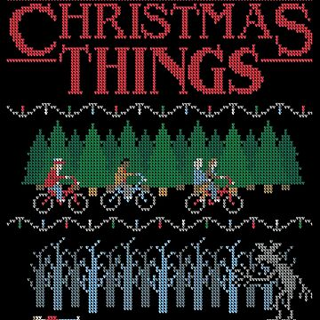 Stranger Things Christmas  by theSarahr