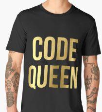 CODE QUEEN - Programming - HaxByte Men's Premium T-Shirt