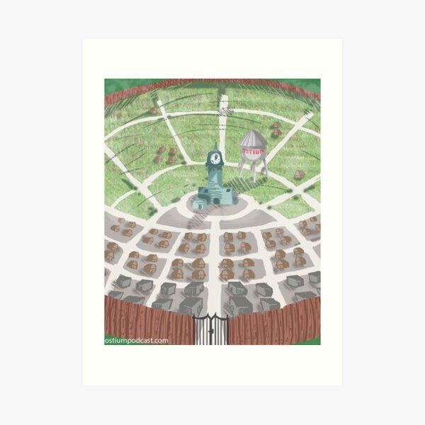 The Ostium Guide to Ostium Art Print