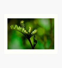 Green Fingers Art Print