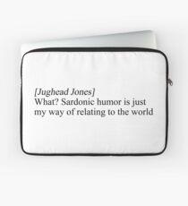 Jughead Jones sardonic Laptop Sleeve