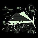 Atomic Fish #1 by hepcatshaven