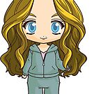 The 100 Clarke Griffin in Chibi Form-Mt. Weather by Evelyn Ulrich