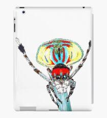 Peacock spider Maratus volans iPad Case/Skin