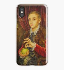 Boy With Apple iPhone Case/Skin