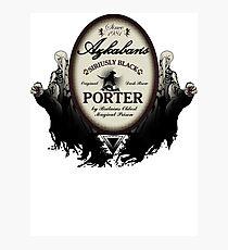 Azkaban's Siriusly Black Porter Photographic Print