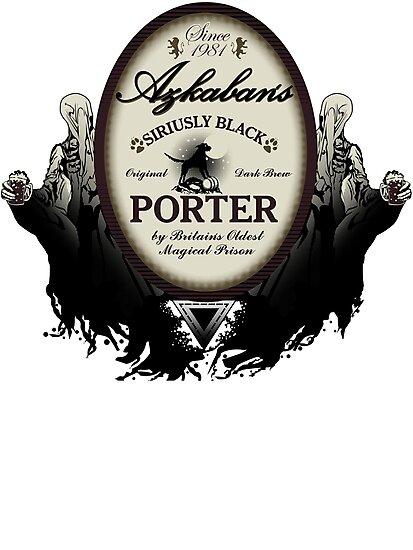 Azkaban's Siriusly Black Porter by Steven Thibaudeau