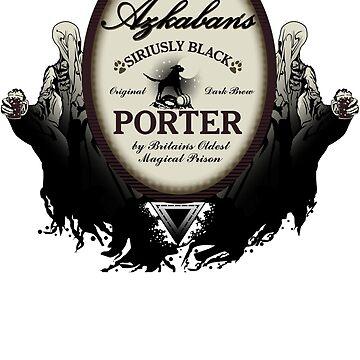 Azkaban's Siriusly Black Porter by magmakensuke