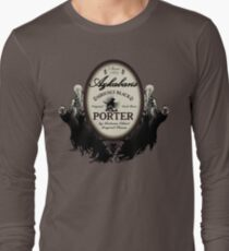 Azkaban's Siriusly Black Porter Long Sleeve T-Shirt