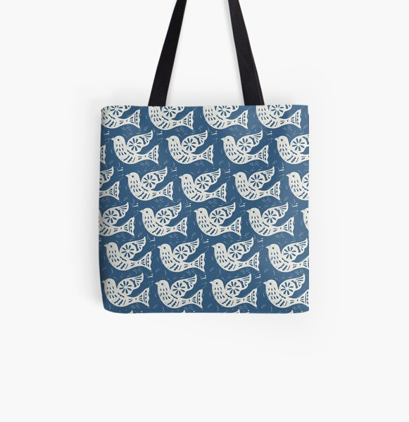 Peace and Joy All Over Print Tote Bag