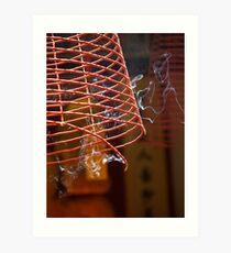 artscapes #5, incense Art Print