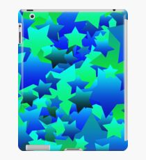 Bubble Stars Blue iPad Case/Skin