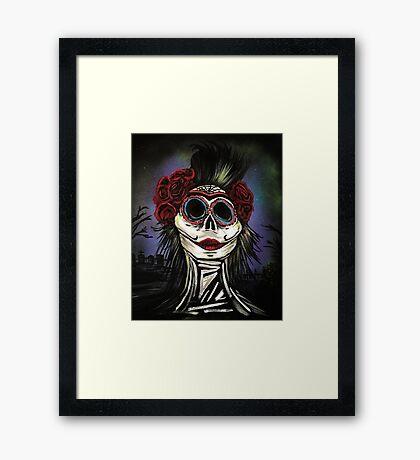 Night Of The Dead Framed Print