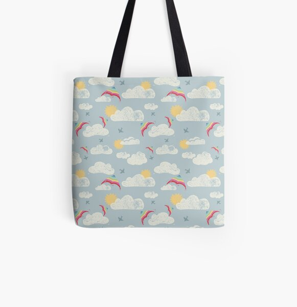 Lets go fly a kite! All Over Print Tote Bag