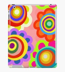 Retro Floral Background Pattern iPad Case/Skin