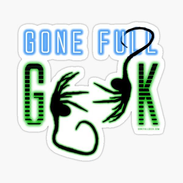 "GoneFullGeek ""Alien"" Sticker"