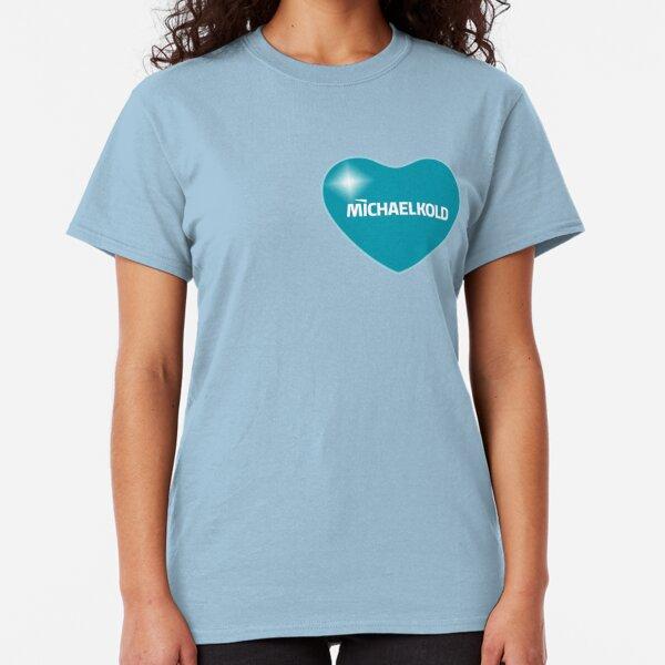Michael Kold ❤ (Blue) Classic T-Shirt
