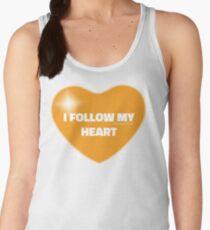 I Follow My Heart (Orange) Women's Tank Top