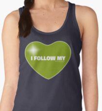 I Follow My ❤ (Green) Women's Tank Top