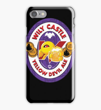 Wily Castle Yellow Devil Ale iPhone Case/Skin