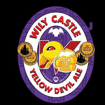 Wily Castle Yellow Devil Ale by magmakensuke