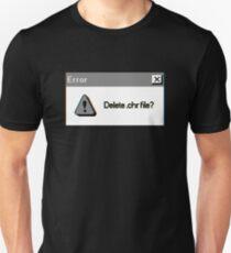 Error - Doki Doki Literature Club Shirt Unisex T-Shirt