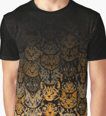 Kittens - Autumn Fade Graphic T-Shirt