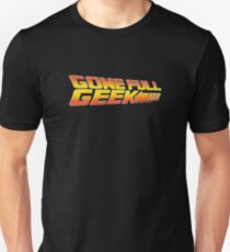 "GoneFullGeek ""Back to the Future"" Unisex T-Shirt"