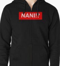 NANI!? Zipped Hoodie