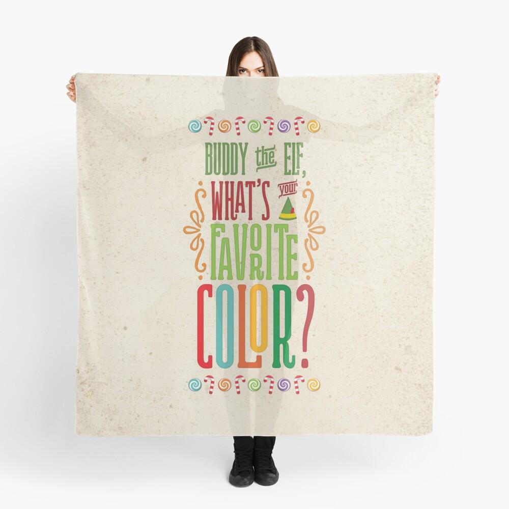 Buddy the Elf - Was ist deine Lieblingsfarbe? Tuch