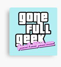 "GoneFullGeek ""GTA Vice City"" Canvas Print"