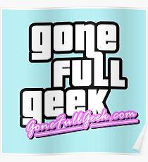 "GoneFullGeek ""GTA Vice City"" Poster"