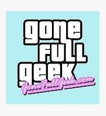 "GoneFullGeek ""GTA Vice City"" Photographic Print"