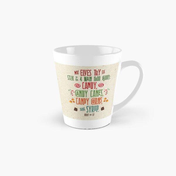 Buddy the Elf - The Four Main Food Groups Tall Mug