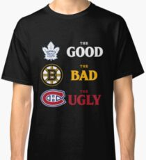 The Good, The Bad, The Ugly -- NHL Version Classic T-Shirt