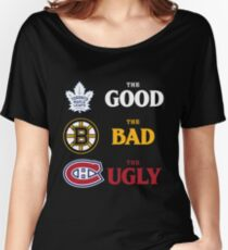 The Good, The Bad, The Ugly -- NHL Version Women's Relaxed Fit T-Shirt