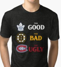 The Good, The Bad, The Ugly -- NHL Version Tri-blend T-Shirt