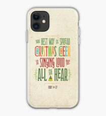 Buddy the Elf - Christmas Cheer iPhone Case