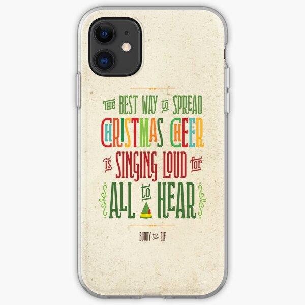 Buddy the Elf - Christmas Cheer iPhone Soft Case