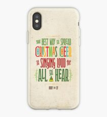 Buddy the Elf - Christmas Cheer iPhone Case