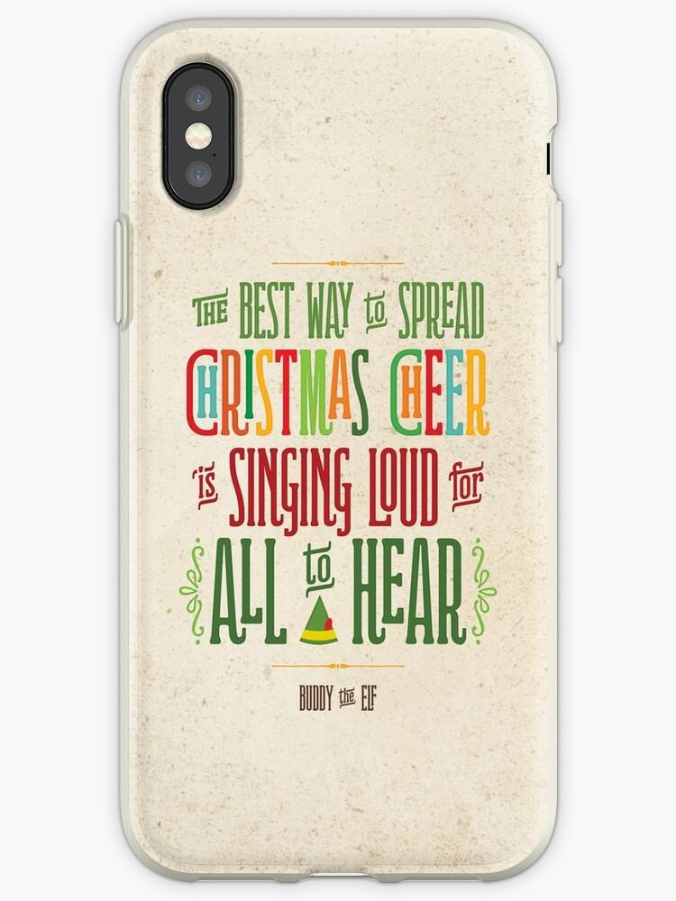 Buddy the Elf - Christmas Cheer by noondaydesign