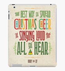 Vinilo o funda para iPad Buddy el duende - alegría navideña