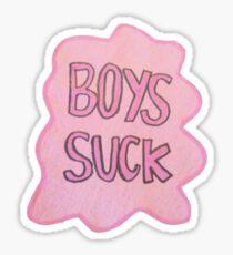 Boys suck Sticker