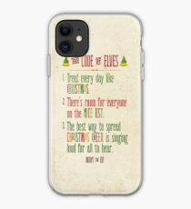 Buddy the Elf! The Code of Elves iPhone Case