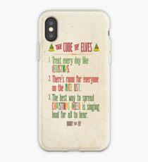 Buddy der Elf! Der Code der Elfen iPhone-Hülle & Cover