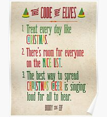 Buddy Elf Posters | Redbubble