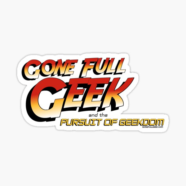 "GoneFullGeek ""Indy"" Sticker"