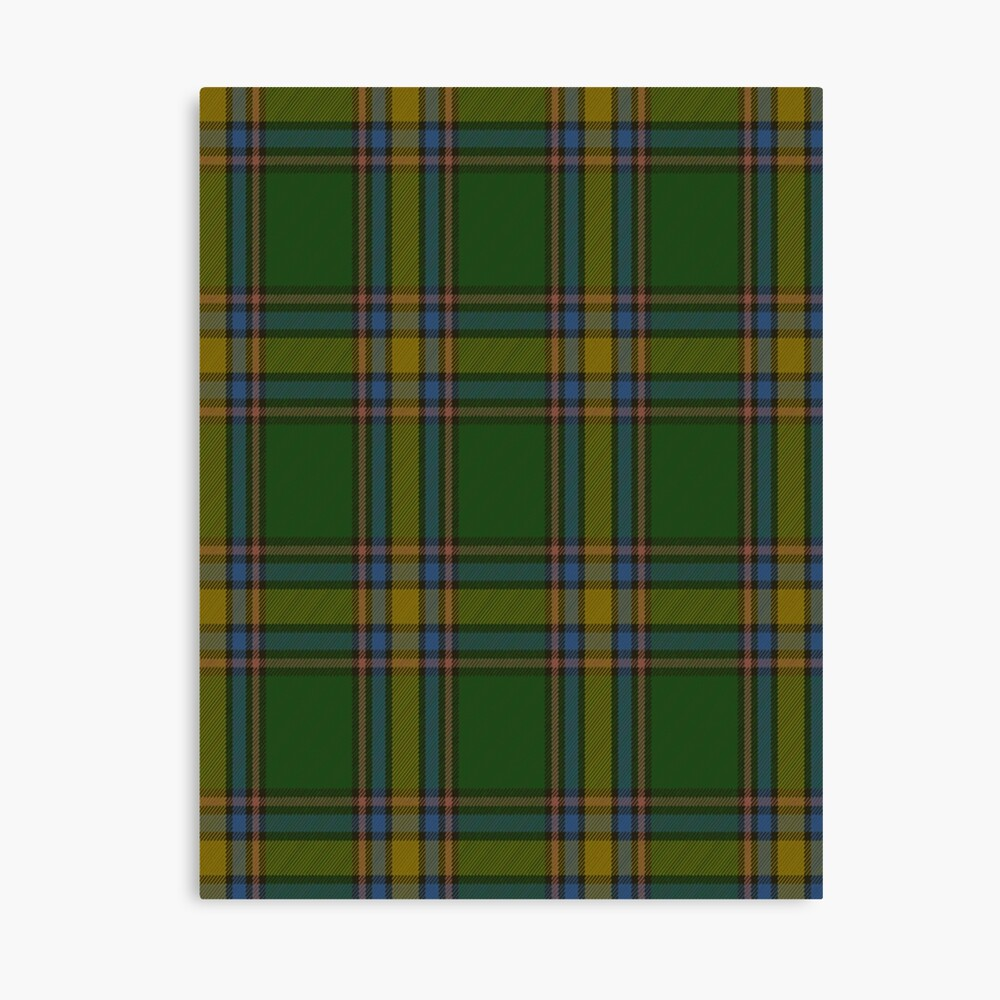 Tartan Green Tartan Green Strathmore Textured Sheets